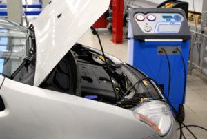 Заправка и обслуживание автокондиционеров СТО в Чернигове SIVER
